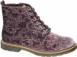 48e32eb043 Členková obuv z brúsenej kože Baťa Dámske...