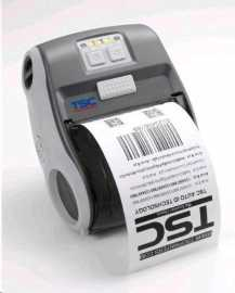 TSC Alpha-3R, 8 dots/mm (203 dpi), EPLII, ZPLII, CPCL, USB, BT mobile printer, direct thermal, 8 dots/mm (203 dpi), media width (max.): 80 mm, print width (max.): 72 mm, speed (max.): 102 mm/s, USB, bluetooth, EPLII, ZPLII, CPCL, RAM: 8 MB, Flash: 4 MB, incl.: power supply unit, belt clip, baterie.