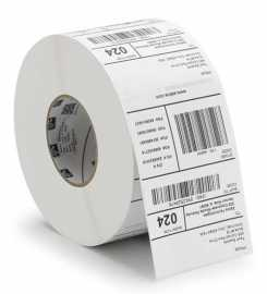Zebra 3012910-T Z-Perform 1000D, label roll, thermal paper, 50,8x25,4mm Zebra Z-Perform 1000D, label roll, thermal paper, uncoated, core: 19mm, diameter: 50mm, dimensions (WxH): 50,8x25,4mm.